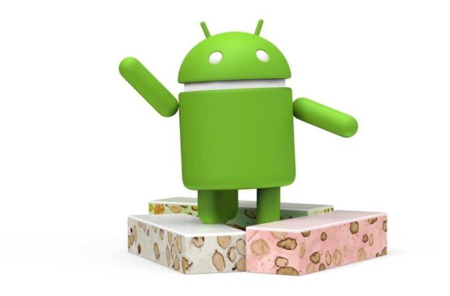 """Android Nougat"" simbolis"