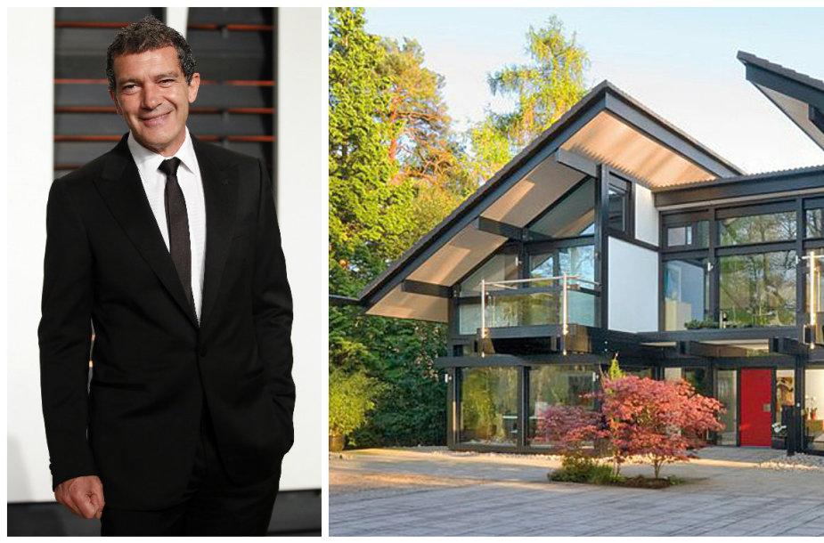 Antonio Banderasas nusipirko modernų namą Anglijoje