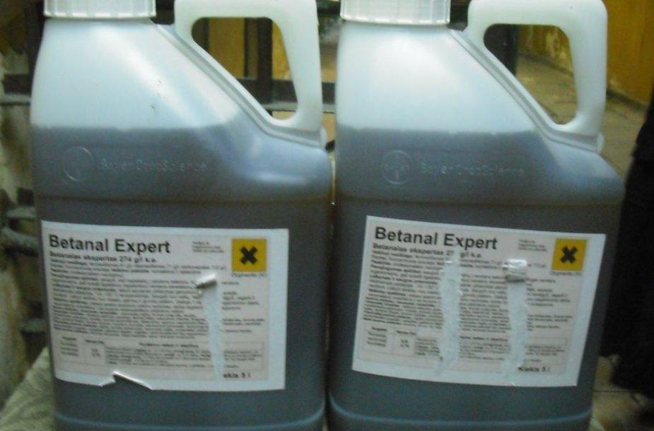 Falsifikuoti pesticidai