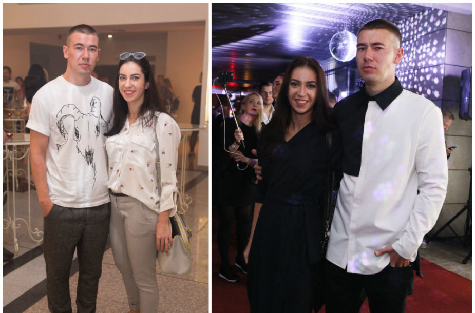 Konstantinas Kiveris-Lilas ir Justė Mikelkevičiūtė