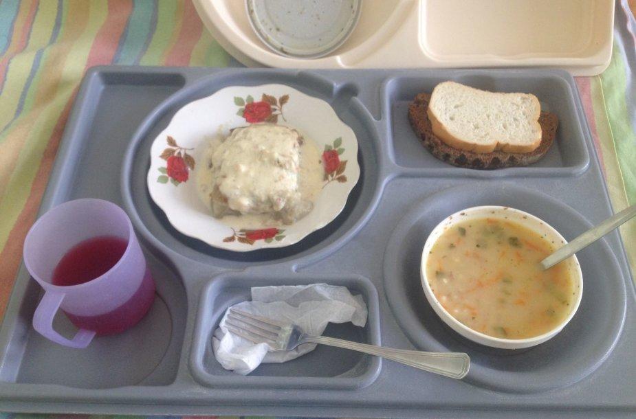 Ligoninių maistas