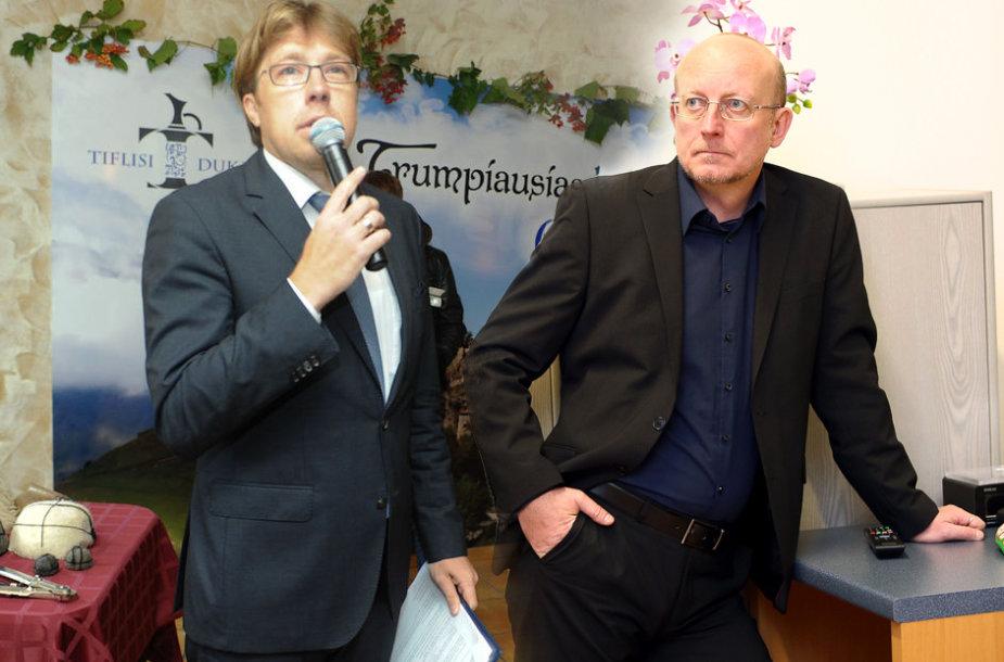Jonas Radzevičius ir Arūnas Valinskas
