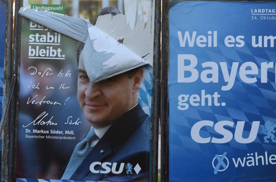 CSU reklama Bavarijoje