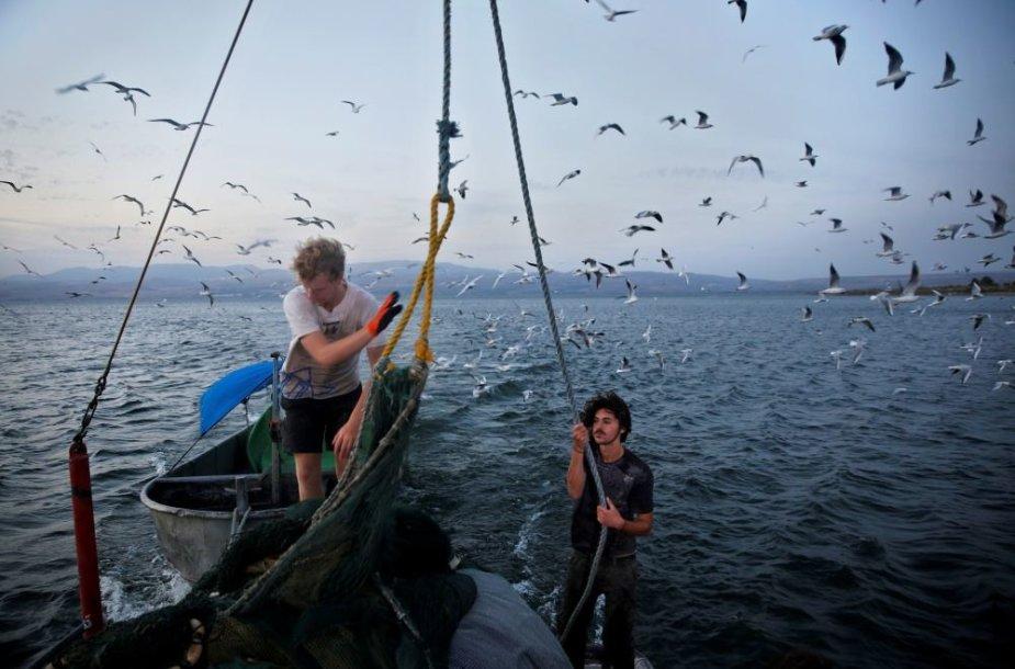 Galilėjos jūroje vandens lygis mažėja