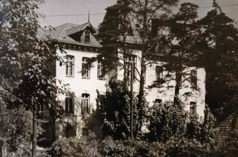 Respublikinės Vilniaus psichoneurologinės ligoninės didysis pastatas, 1959 metai.