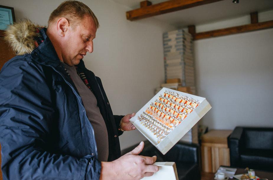Juozas Dūda – aistringas drugelių kolekcininkas