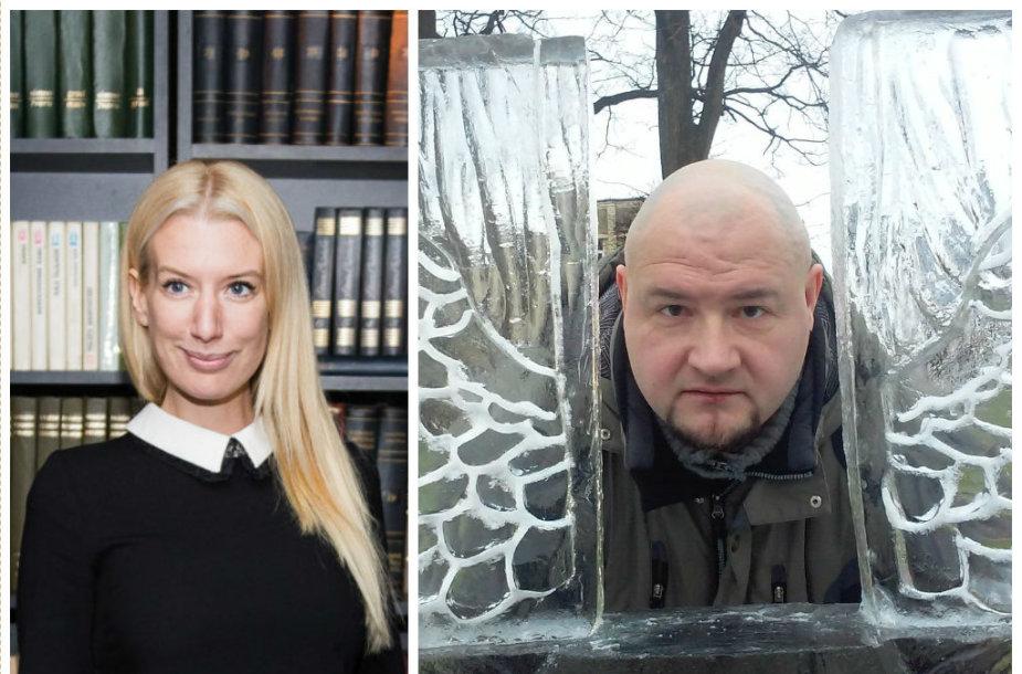 Erika Purauskytė ir Mindaugas Tendziagolskis