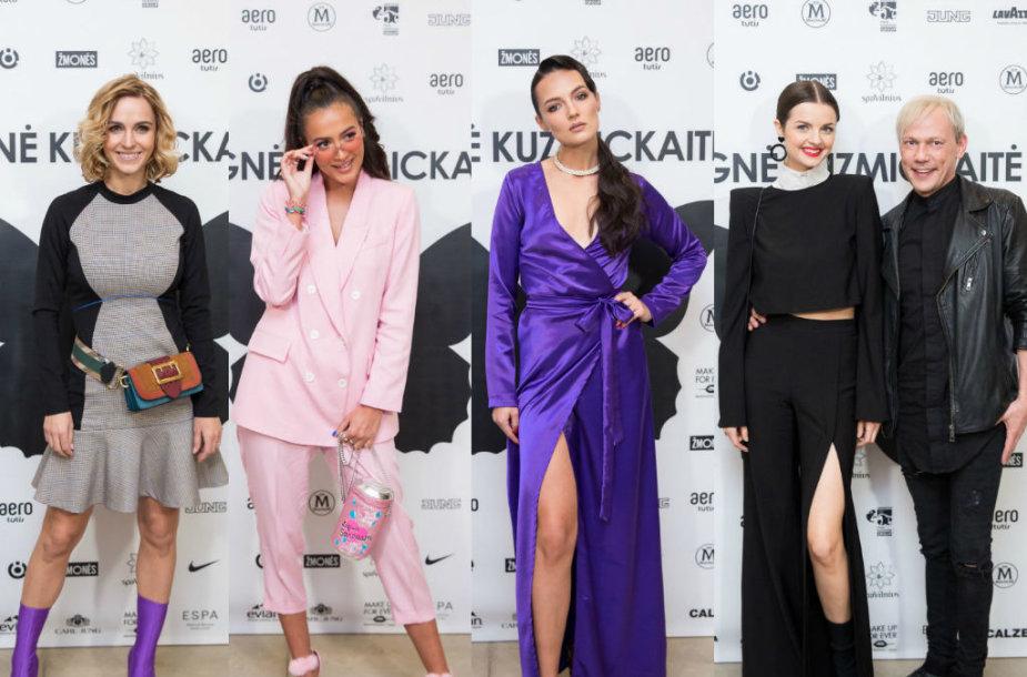 Indrė Kavaliauskaitė, Karolina Meschino, Simona Burbaitė, Gabrielė Martirosianaitė ir Gytis Ivanauskas