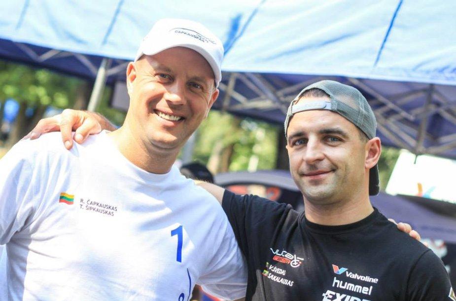 Ramūnas Čapkauskas ir Vytautas Švedas