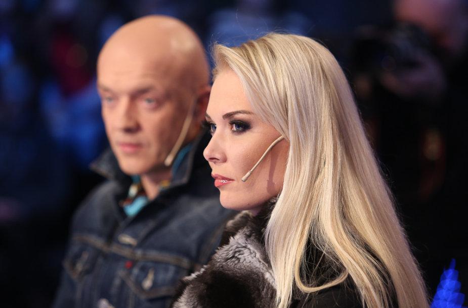Natalija Bunkė ir Ramūnas Rudokas