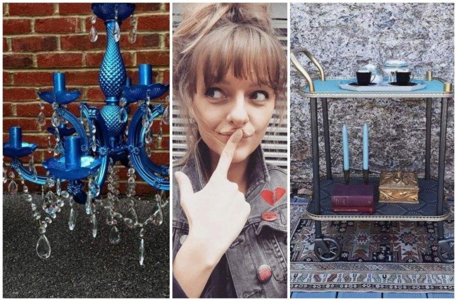 Miglė Liorančienė ir jos naujam gyvenimui prikelti daiktai