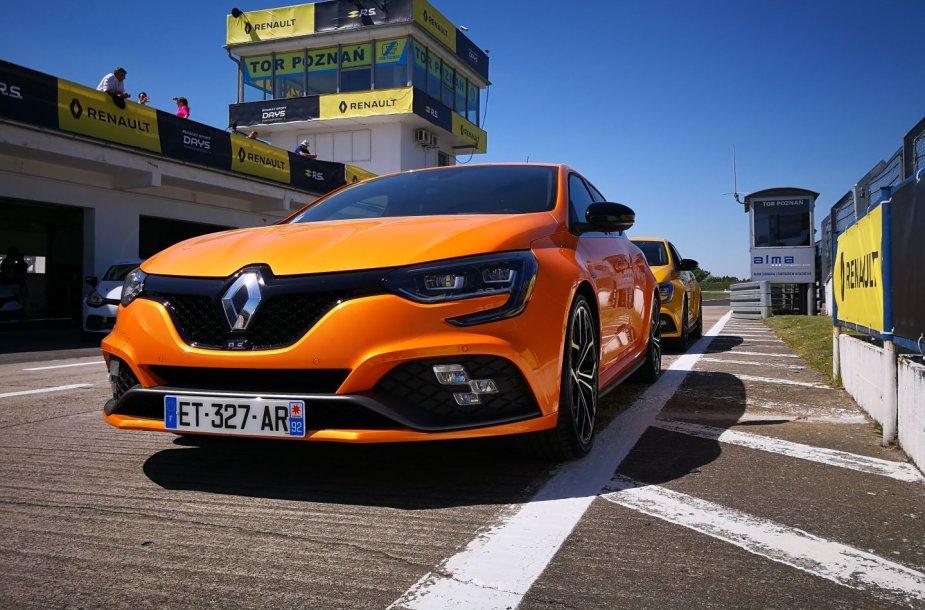 """""""Renault Megane R.S."""" pristatymas Poznanėje"""