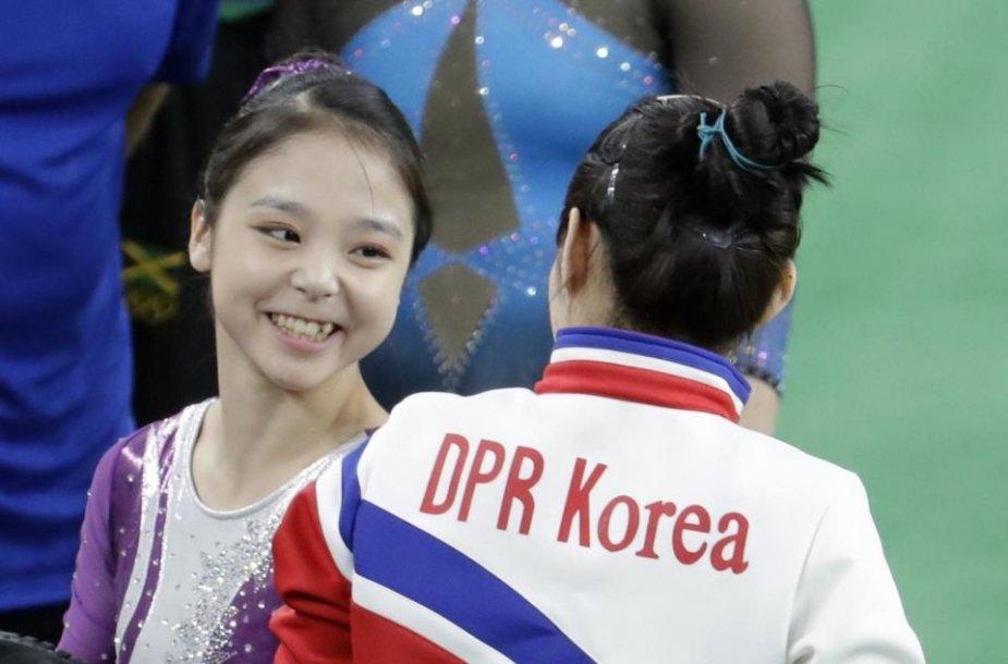Pietų ir Šiaurės Korėjų gimnastės