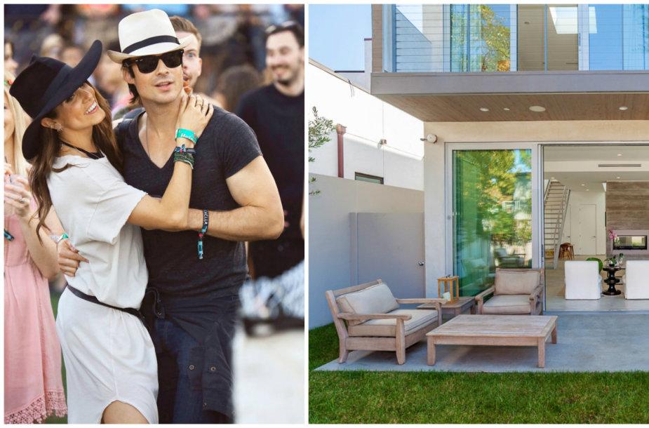 Nikki Reed ir Iano Somerhalderio namai