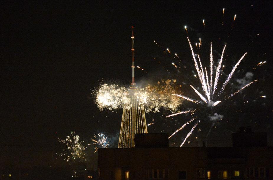 Naujųjų metų sutikimas Vilniuje, Fabijoniškėse