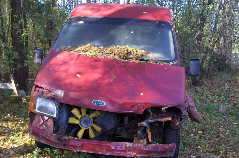 Apleistas automobilis