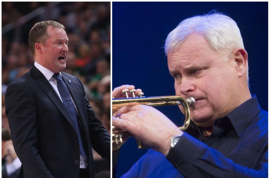 Kazys Maksvytis ir Vytautas Grubliauskas