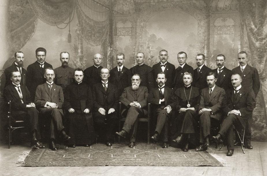 Lietuvos Taryba – Nepriklausomybės akto signatarai