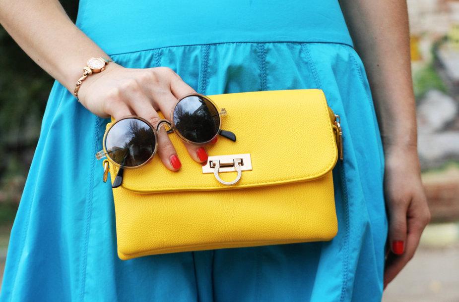 Geltona rankinė