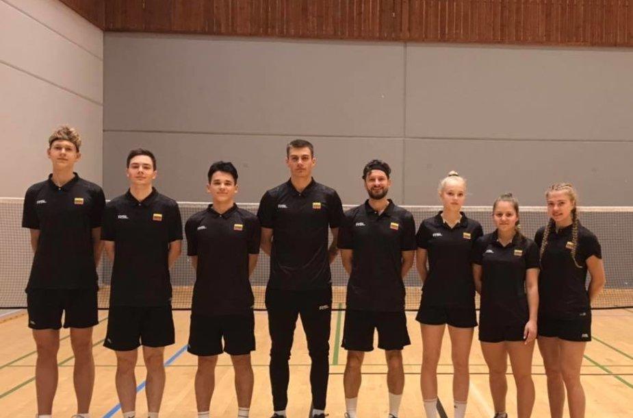 Lietuvos badmintono U-19 rinktinė