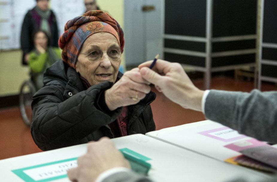 Rinkimai Italijoje