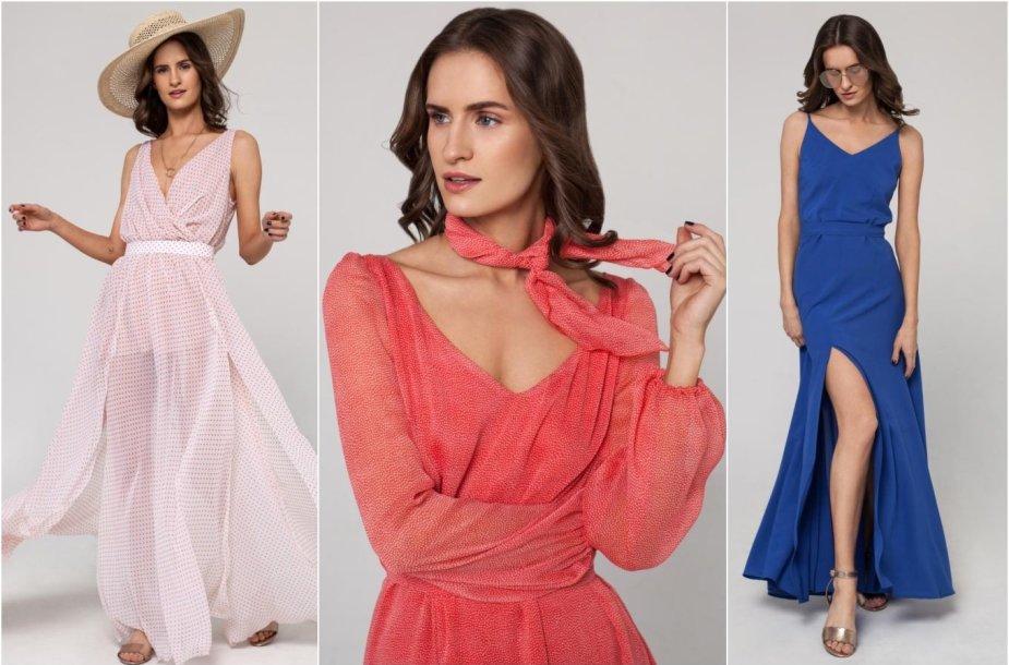 Agnės Deveikytės vasarinių suknelių kolekcijos modeliai