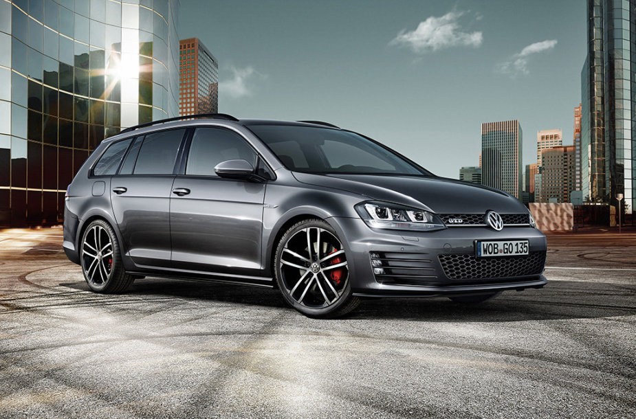 """Volkswagen Golf GTD Variant"""