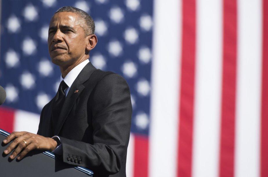 Barackas Obama Selmoje