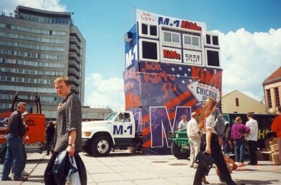 """Pirmas Lietuvoje radijas ant ratų """"Skybox"""""""