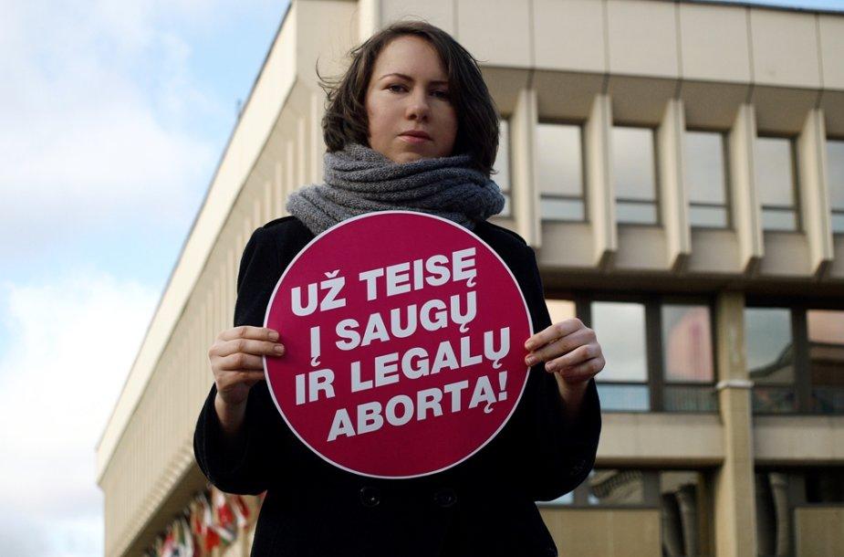 Protestas prieš abortų draudimą