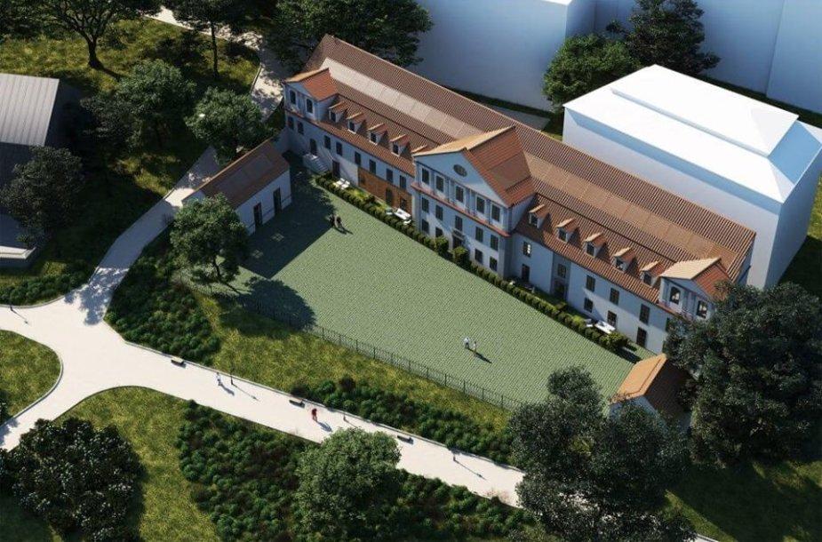 Vietoje Reformatų Sinodo pastato planuojami butai