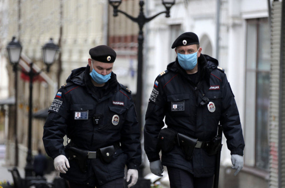 Maskvos policija