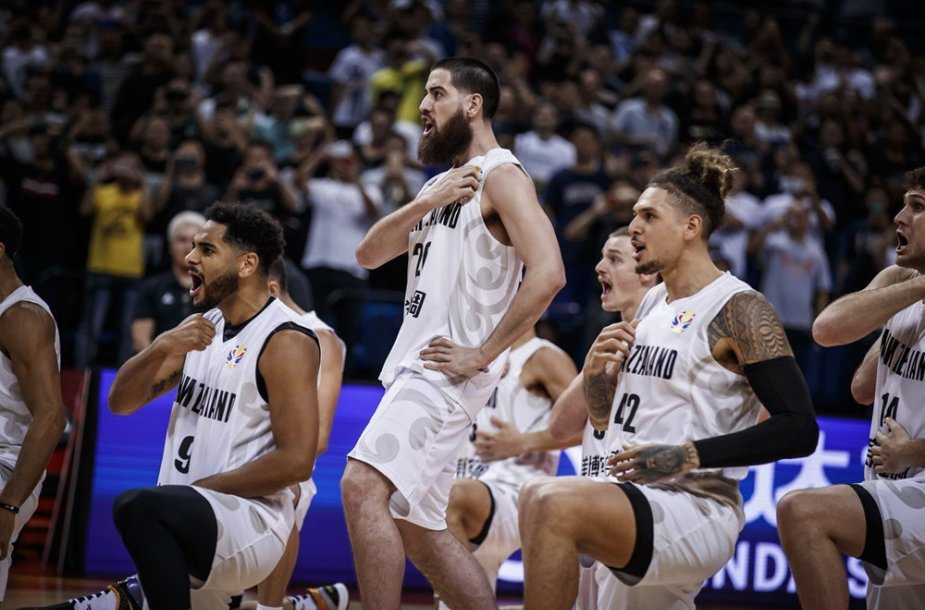 Naujosios Zelandijos krepšininkai
