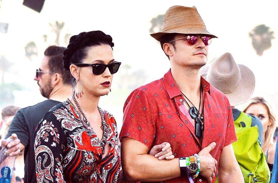 Orlando Bloomas ir Katy Perry