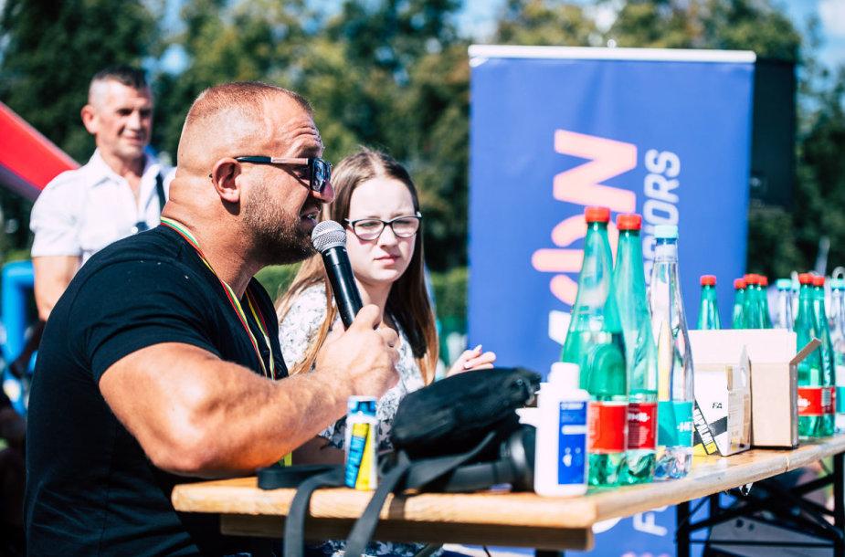 Sekmadienį finišavo tris dienas Lietuvos sostinės centre - Lukiškių aikštėje - vykęs jau aštuntasis Vilniaus sporto festivalis.