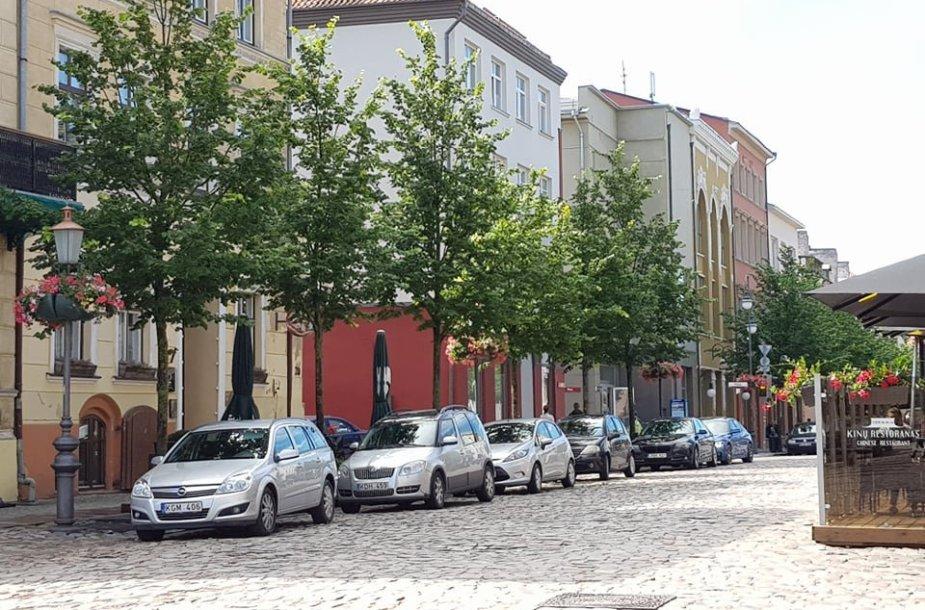Už 5 mln. eurų bus atnaujinamas ar rekonstruojamas Klaipėdos senamiesčio grindinys.