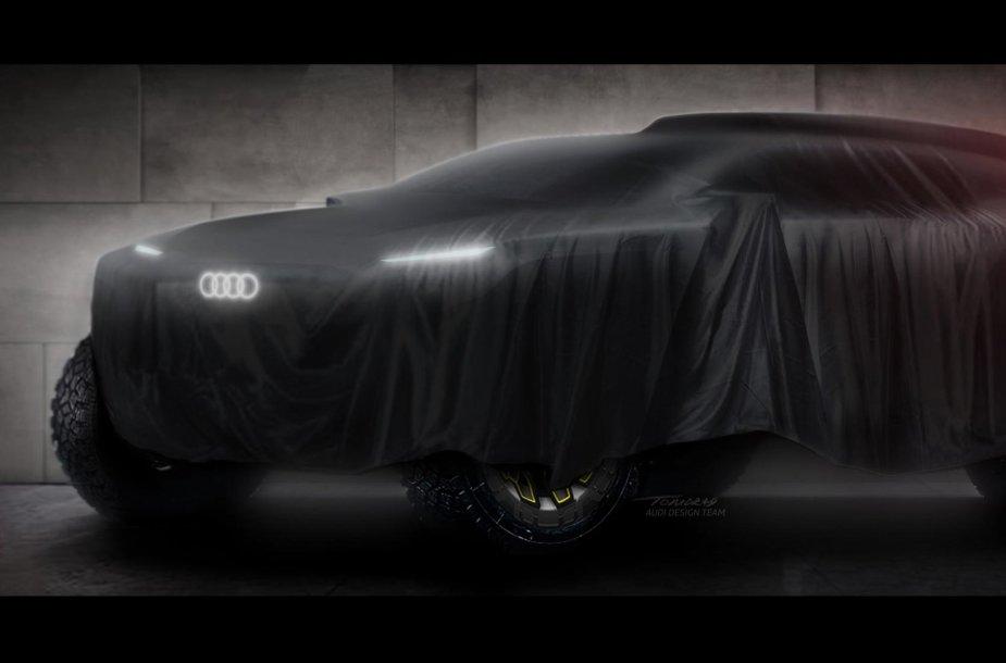 """""""Audi"""" Dakaro prototipas"""