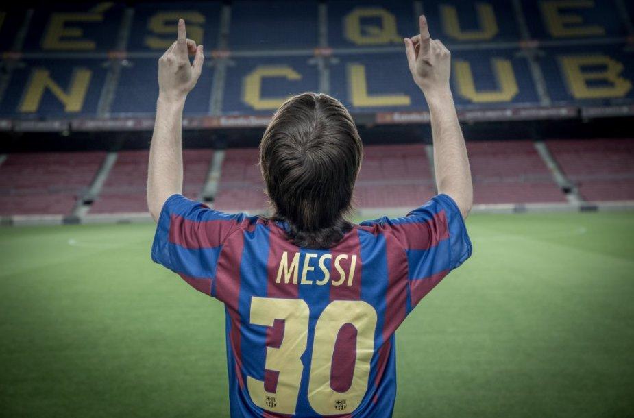 "Filmo ""Messi"" kadras"