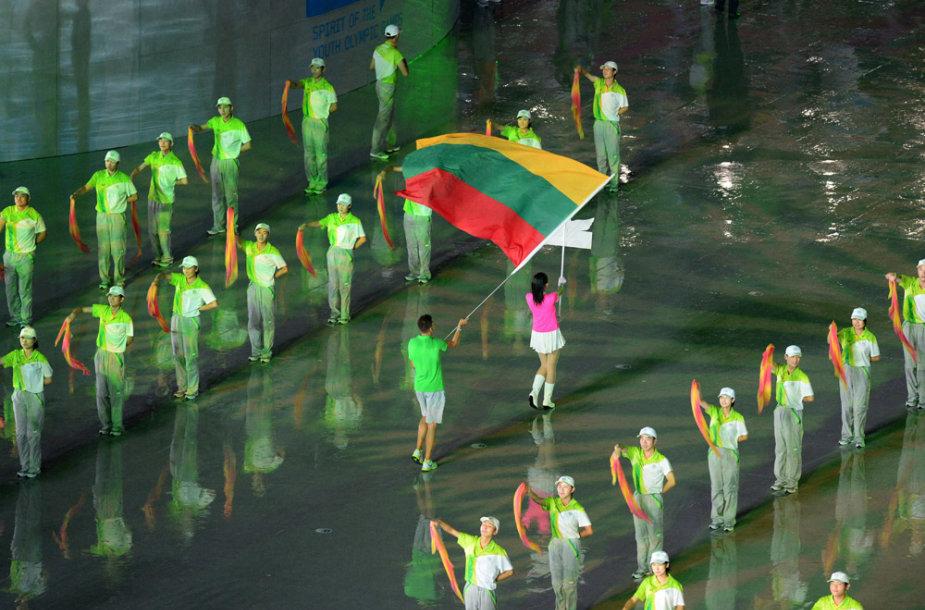 Jaunimo olimpinių žaidynių Nandzinge atidarymo ceremonija