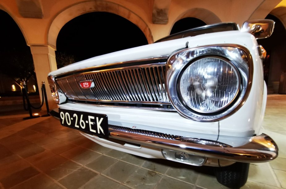 "Istorinė ""Toyota Corolla"" (1966-1970 m.)"