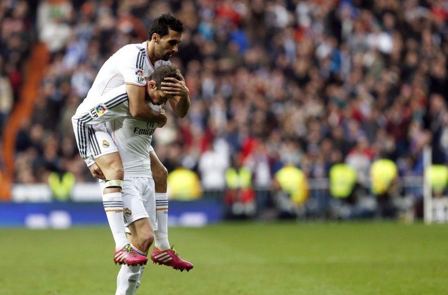 Alvaro Arbeloa ir Garethas Bale'as