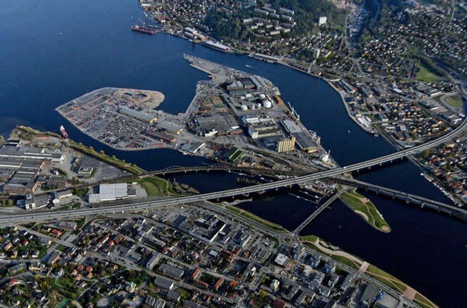 Drammenas, Norvegija