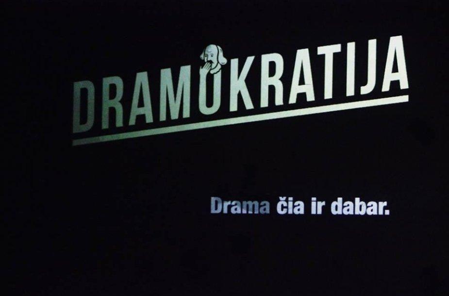 Dramokratai sudrebino Vilnių.