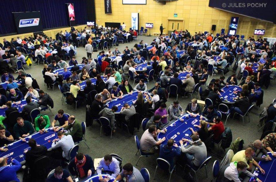IPT Maltos pagrindinis turnyras / PokerStars.net nuotr.