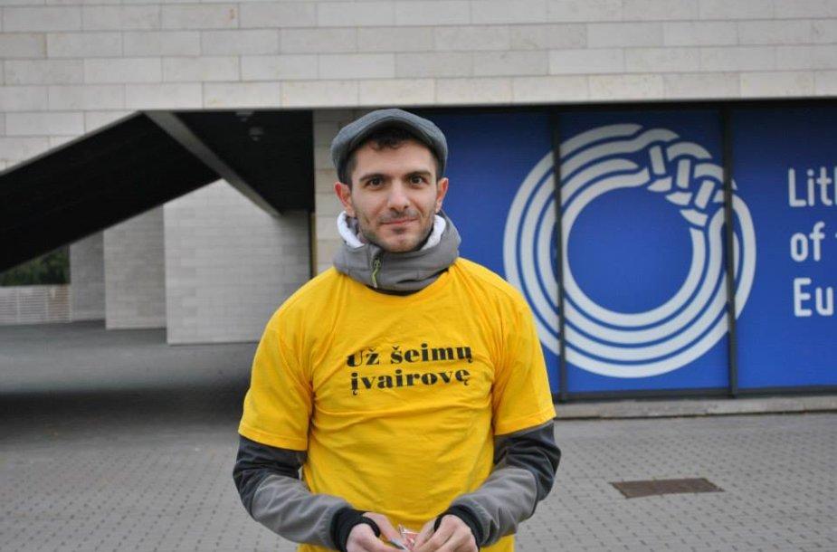 LGL savanoris iš Italijos Rocco Magistro