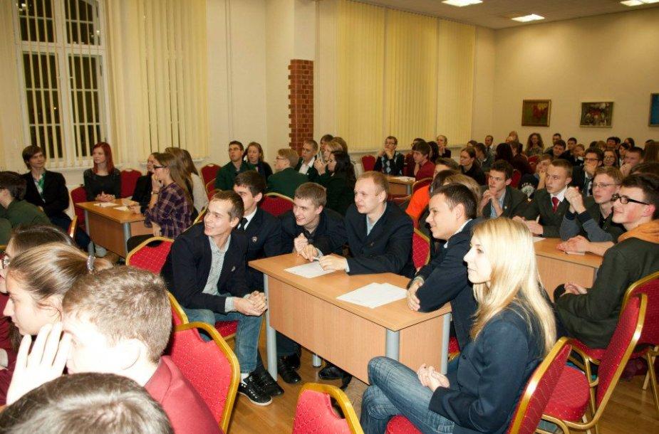 Klaipėdos universiteto protų mūšis