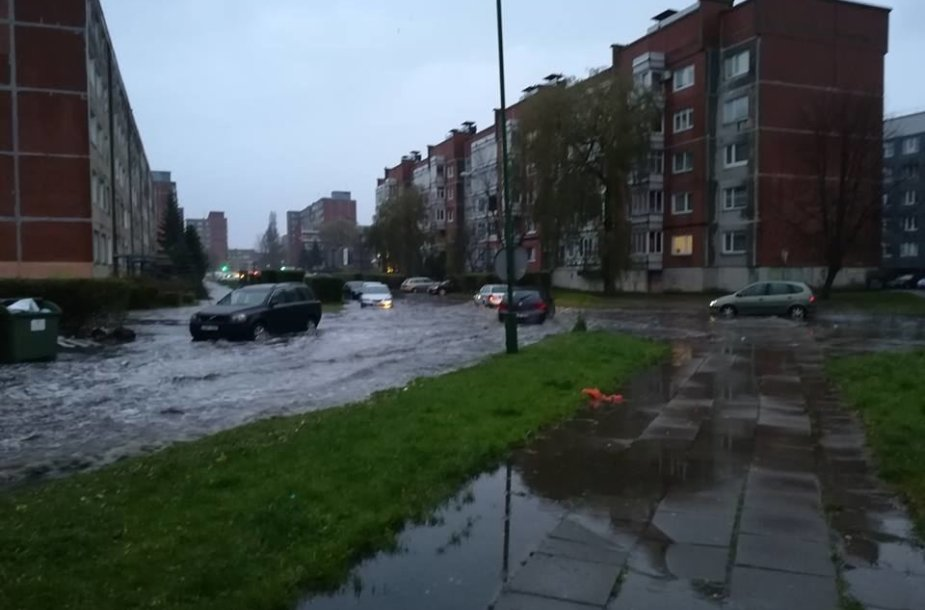 Patvinusios Klaipėdos gatvės.