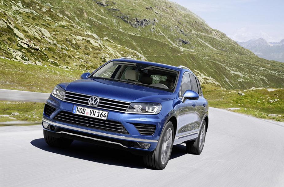 """Naujasis """"Volkswagen Touareg"""""""