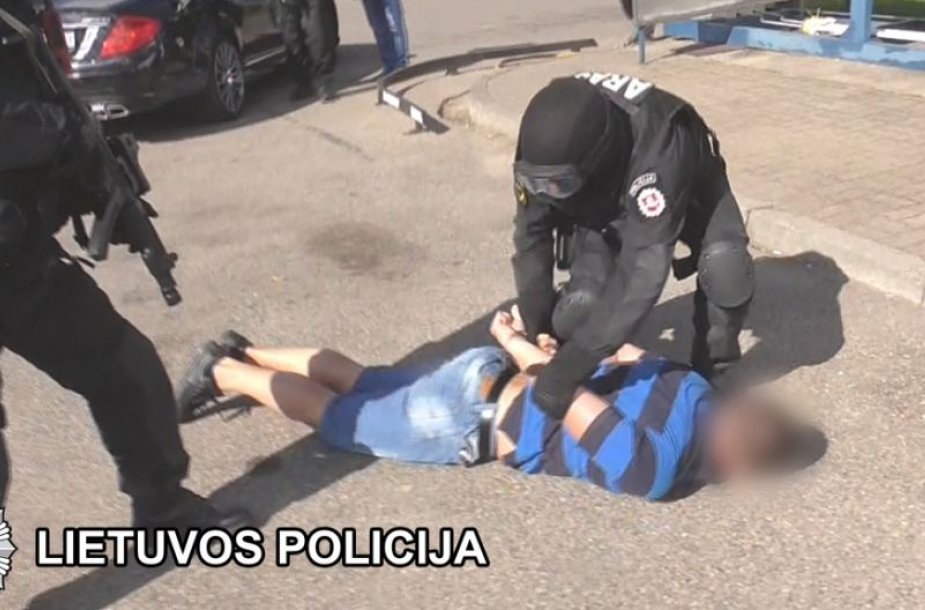Pajūryje sulaikyta nusikaltėlių grupuotė