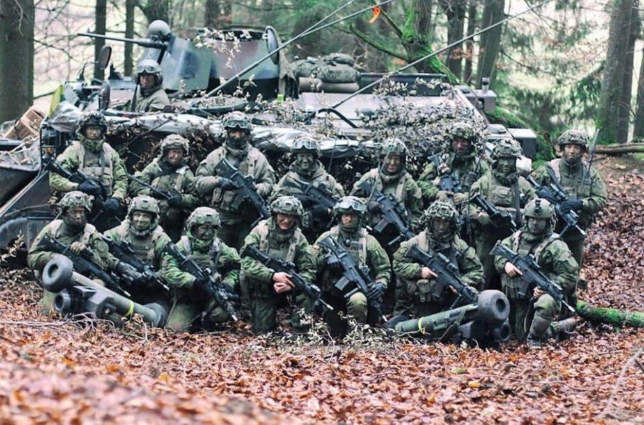 """Algirdo bataliono kariai pratybose """"Jungtinis ryžtas XI"""""""